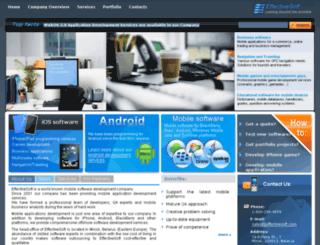 mobile.effectivesoft.com screenshot