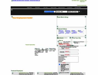 mobile.employmentguide.com screenshot