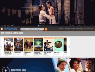 mobile.fandango.com screenshot