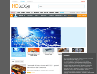 mobile.hdblog.it screenshot