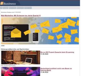 mobile.ibusiness.de screenshot