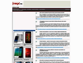 mobile.itbox.ro screenshot