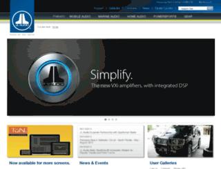 mobile.jlaudio.com screenshot