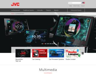 mobile.jvc.com screenshot
