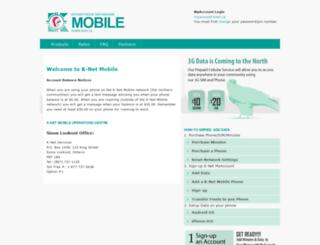 mobile.knet.ca screenshot