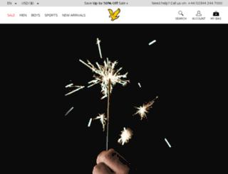 mobile.lyleandscott.com screenshot