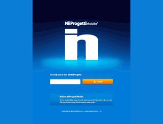 mobile.niiprogetti.it screenshot