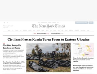 mobile.nytimes.com screenshot