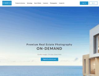 mobile.obeo.com screenshot