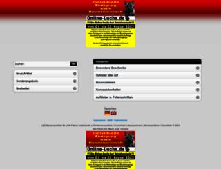 mobile.online-luchs.de screenshot