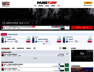 mobile.paris-turf.com screenshot