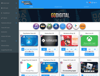 mobile.pcgamesupply.com screenshot