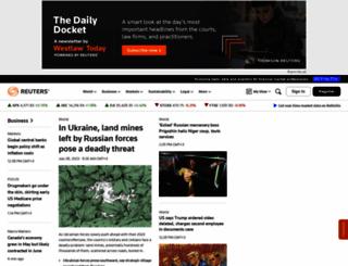 mobile.reuters.com screenshot