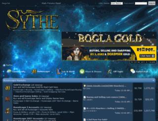 mobile.sythe.org screenshot
