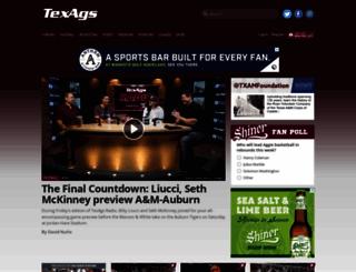 mobile.texags.com screenshot