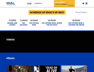 mobile.thistv.com screenshot