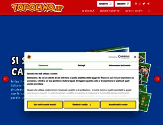 mobile.topolino.it screenshot