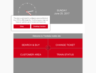 mobile.trenitalia.com screenshot
