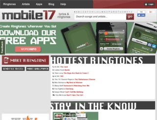 mobile17.com screenshot
