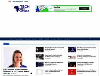 mobileafrica.net screenshot