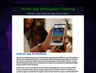 mobileappdevelop.yolasite.com screenshot