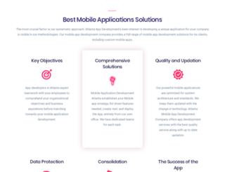mobileappdevelopmentatlanta.com screenshot