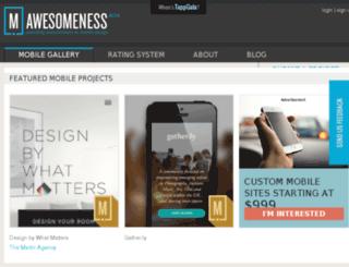 mobileawesomeness.com screenshot