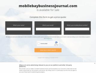 mobilebaybusinessjournal.com screenshot