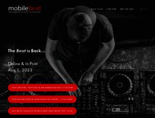 mobilebeat.com screenshot