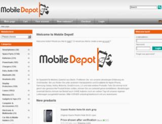 mobiledepot.de screenshot