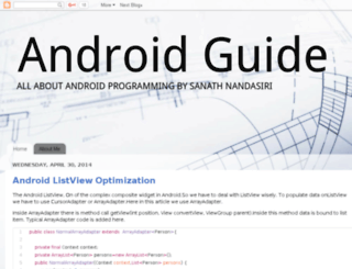 mobiledevguide.com screenshot