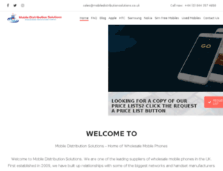 mobiledistributionsolutions.com screenshot
