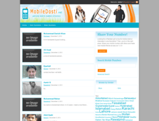 mobiledosti.net screenshot