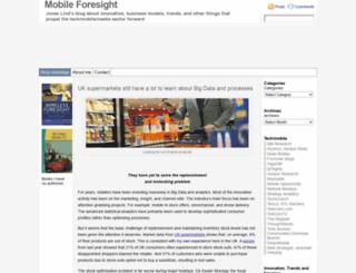 mobileforesight.com screenshot