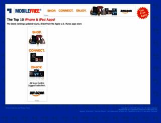 mobilefree.com screenshot