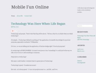 mobilefunonline.com screenshot