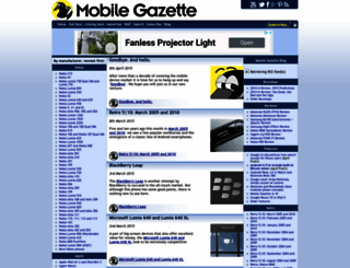 mobilegazette.com screenshot
