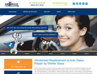 mobileglassco.com screenshot
