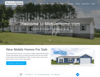 mobilehome.com screenshot
