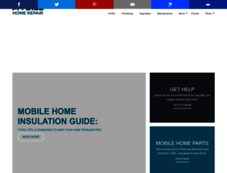 mobilehomerepair.com screenshot