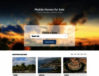 mobilehomes-for-sale.com screenshot
