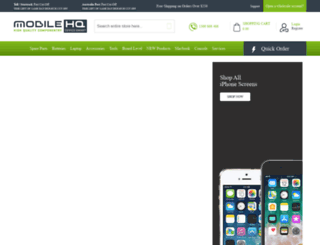mobilehq.com.au screenshot