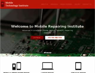 mobileinstitute.in screenshot