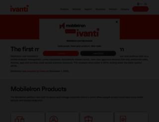 mobileiron.com screenshot