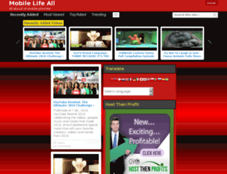 mobilelifeall.com screenshot