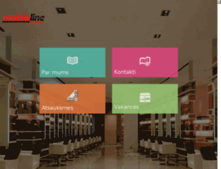 mobileline.lv screenshot
