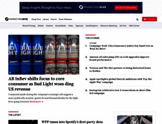 mobilemarketer.com screenshot