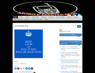 mobilemasterblog.wordpress.com screenshot