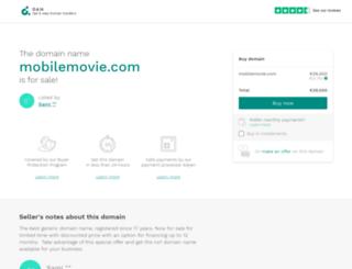 mobilemovie.com screenshot