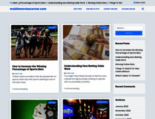 mobilemoviescorner.com screenshot